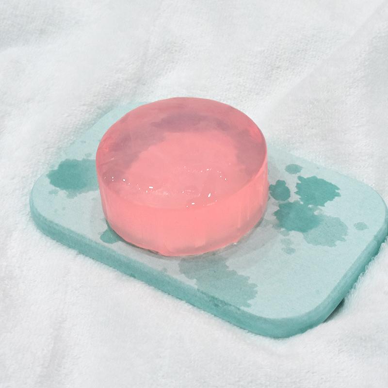 生生 硅藻土肥皂盒洗漱杯吸水沥水垫硅藻泥皂托洗手台香皂盒
