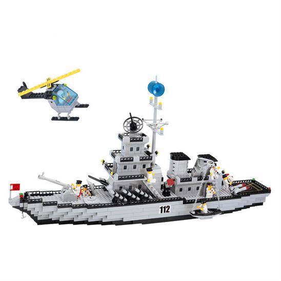 兼容乐高积木拼装航空母舰男童 启蒙儿童益智玩具男孩7-9-11-12岁