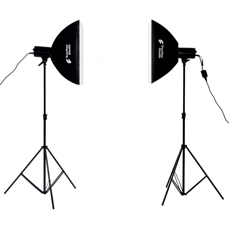 欧宝摄影闪光灯250W人像无影灯室内柔光摄影棚套装补光灯拍照拍摄