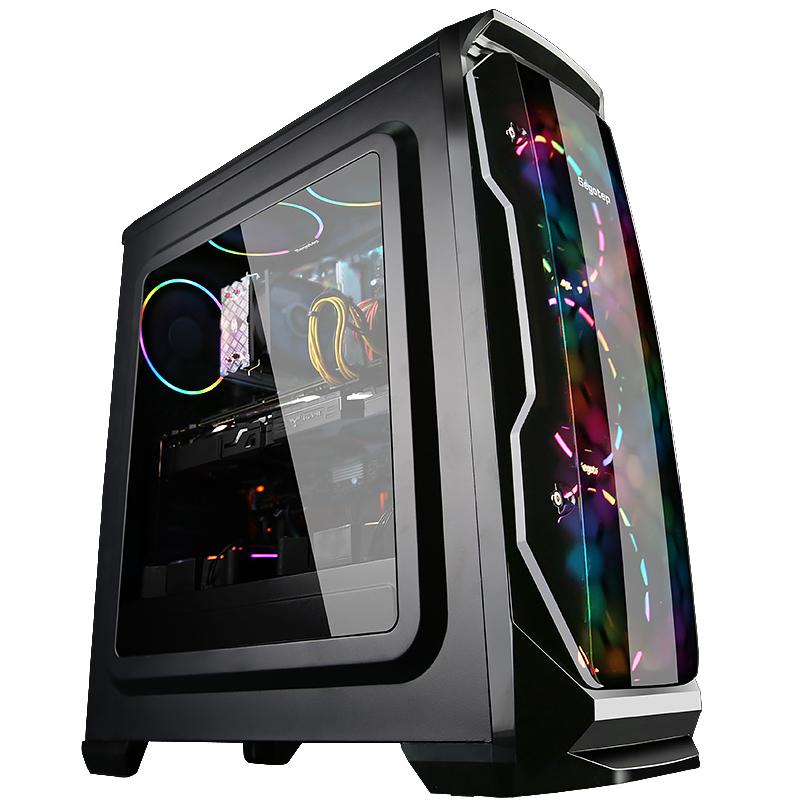 AMD Ryzen5 2600X六核1050TI 1060 5G游戏电脑主机微星X470主板台式组装DIY兼容整机独显吃鸡逆水寒