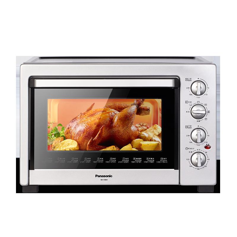 松下NB-H3800电烤箱家用烘焙蛋糕多功能全自动烤箱38升大容量正品