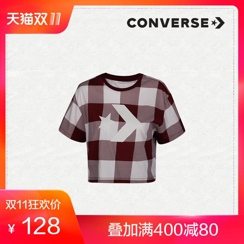 CONVERSE 匡威 10007063 女士印花短袖T恤