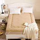 加厚保暖羊羔绒榻榻米床垫床褥子