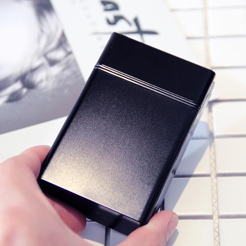 Цвет: Обычный портсигар 20 палочек {#Н1} черный {#N2 с} поп крышка