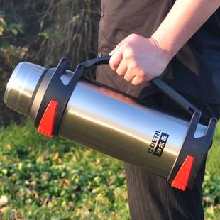 保温杯男大容量保温壶户外保冷壶热水瓶车载旅行水壶1.0-4L