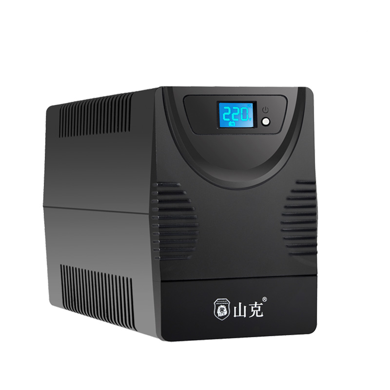 山克 UPS不间断电源2000VA 1200W服务器家用办公电脑单机1小时