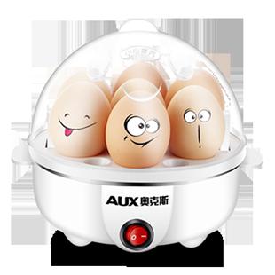 奥克斯煮蛋器蒸蛋器自动断电迷你煮鸡蛋羹机小型家用早餐神器1人