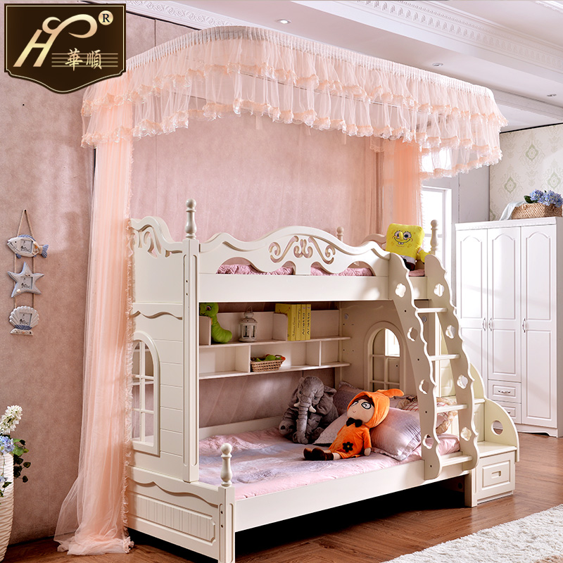 Floor Guide Bed Nets Children To Bed Bunk Bed Height Bed Crib Bunk 1.2 M  1.5 M Bed