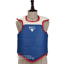 2017 Crotch Sanda Nine section boxing thickening chest practical protective gear vest body more Taekwondo Accessories