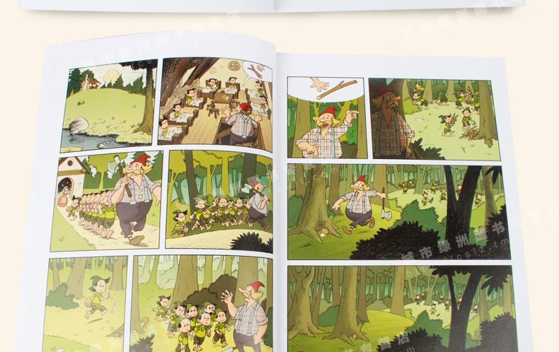 3-4-5-6-8岁幼儿童读物绘本 白雪公主故事书睡前 三只小猪文学经典图片