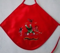 Dudou Guo embroidered apron A18