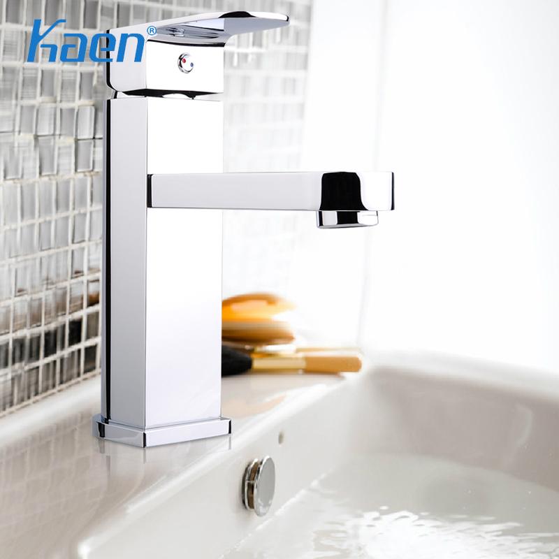 卡恩卫浴全铜欧式冷热混水单孔501