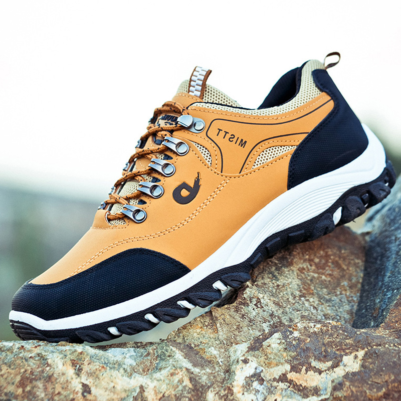 13秋季户外登山鞋男士运动鞋防滑男鞋韩版青年学生跑步潮鞋防水鞋