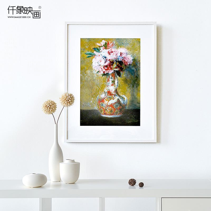 仟象映画瓶里的花束装饰画TM-K0292