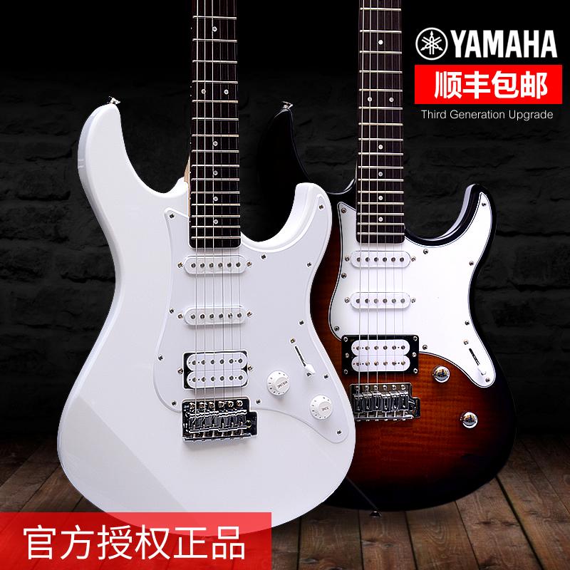 YAMAHA雅马哈电吉他PAC012 PAC112初学者进口电吉它单摇