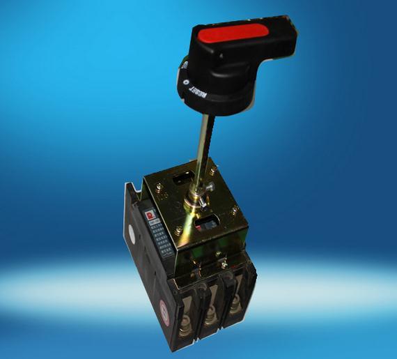 柄实现抽屉柜、配电柜及动力箱等在面板上的操作要求.   旋转手柄操