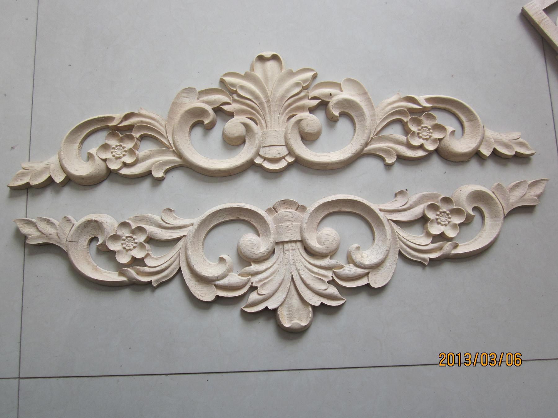 Резные деревянные панели «Спецификация»: 60 см x14cm 1,2 см