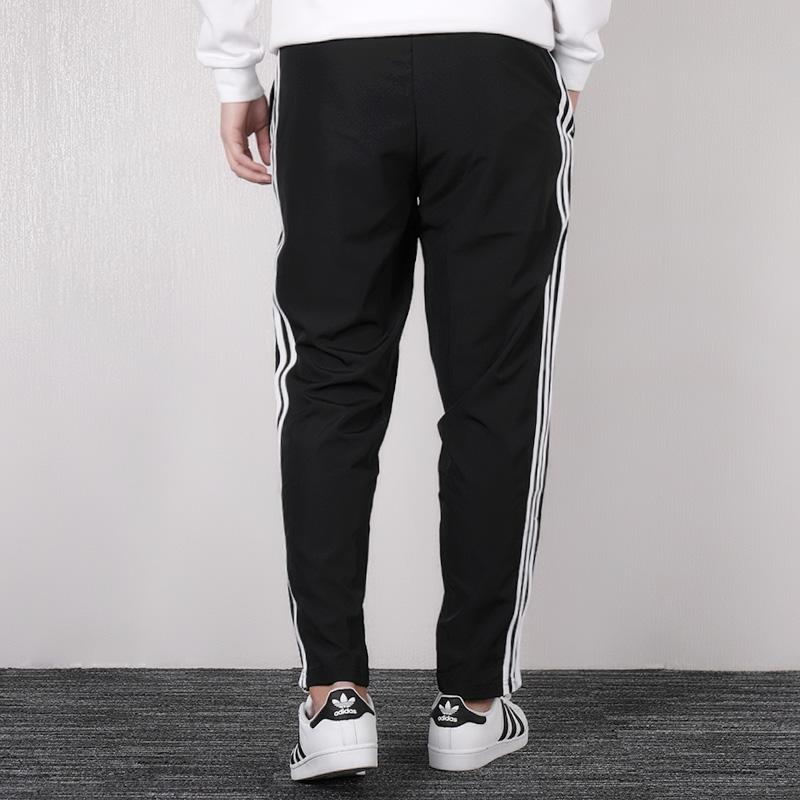 Adidas阿迪达斯男裤长裤2019春季新款运动裤休闲透气直筒裤D95951