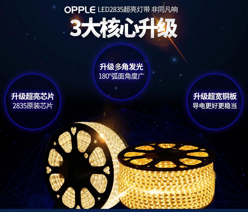 Светодиодный дюралайт OPPLE LED 2835 (130-115) - 4