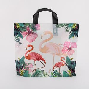 大中小号加厚礼品塑料袋精品胶袋服装店手提袋子定制印刷LOGO包邮