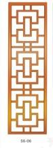 Резные деревянные панели Wang Mu Yi