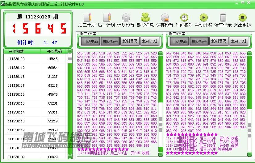 时时彩后二大底平刷_大底软件(自动群发) 易位时时彩教程无限易位 店主平时收集的彩票工具