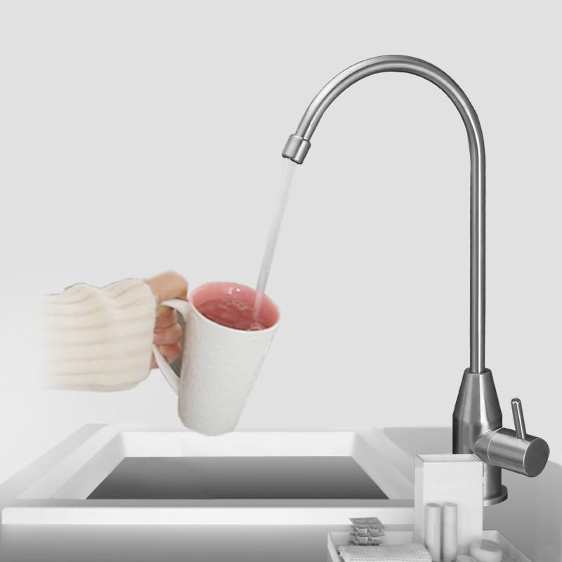 潜水艇净水机直饮水龙头厨房家用单冷2分不锈钢过滤器纯净水龙头
