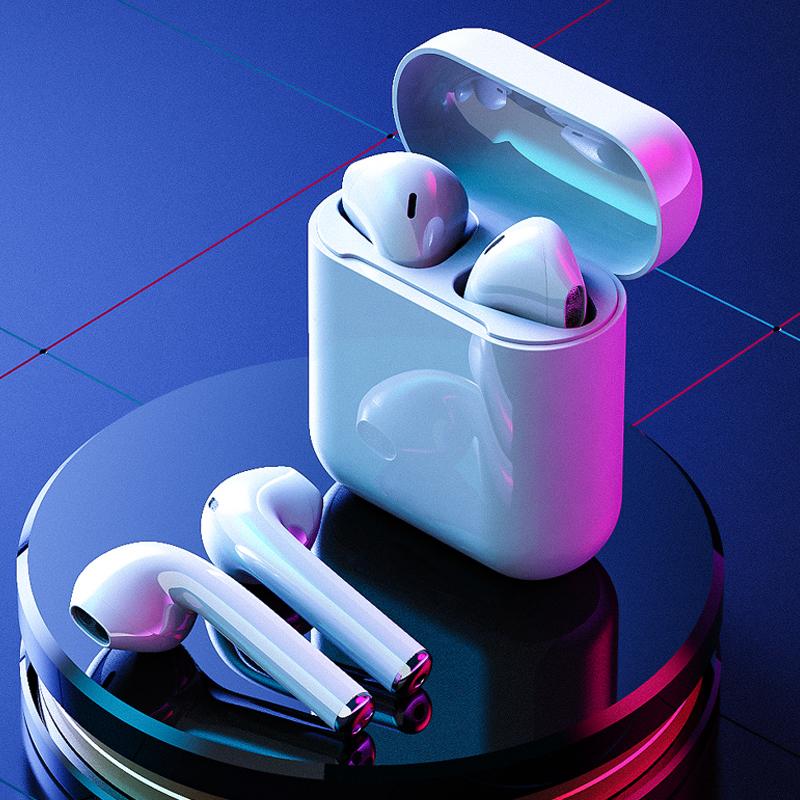 英菲克真无线蓝牙耳机单双耳入耳式隐形超长待机续航女生款可爱运动适用苹果vivo华为oppo小米通用2021新款