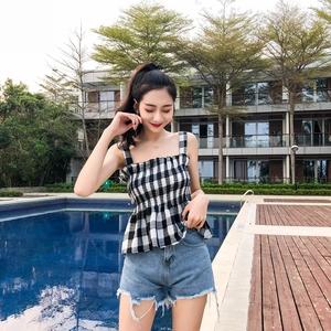 【批发区】马来西亚新加坡台湾女装服装衣服批发代理皱感木耳边外...