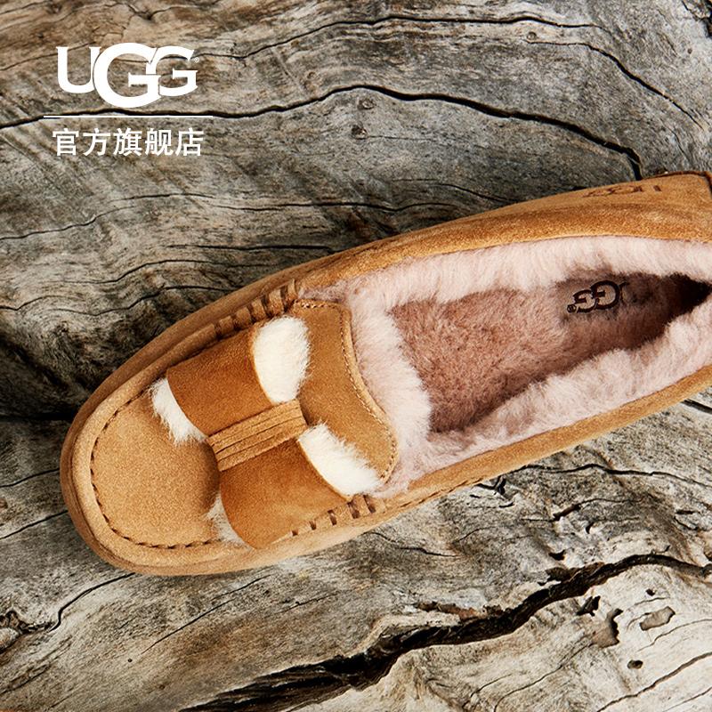 UGG冬季女士休闲便鞋蝴蝶结款 1013986