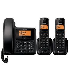 Проводной и DECT-телефон At & t