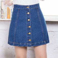 Skirt Wuzi its Denim skirt/001 2017