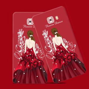 三星c7手机壳c5女款c9pro韩国潮流个性创意软硅胶全包防摔保护套