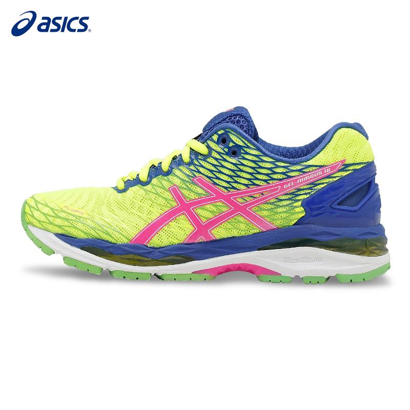 ASICS亚瑟士 GEL-NIMBUS 18 女缓轻量冲稳定运动鞋跑步鞋 T650N