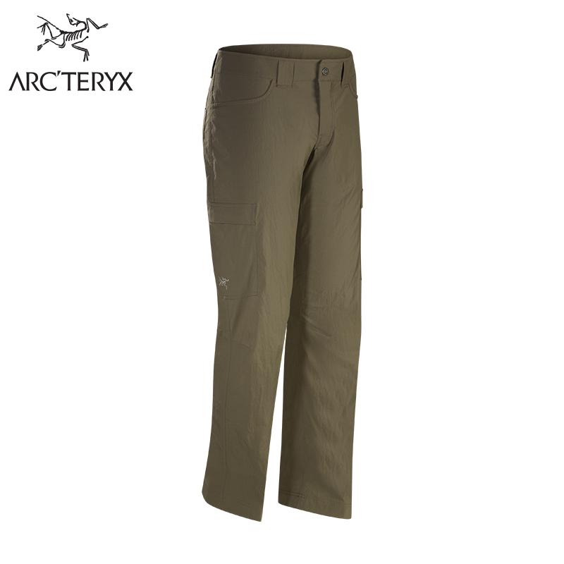 Arcteryx始祖鸟男款轻量快干徒步长裤Rampart Pant
