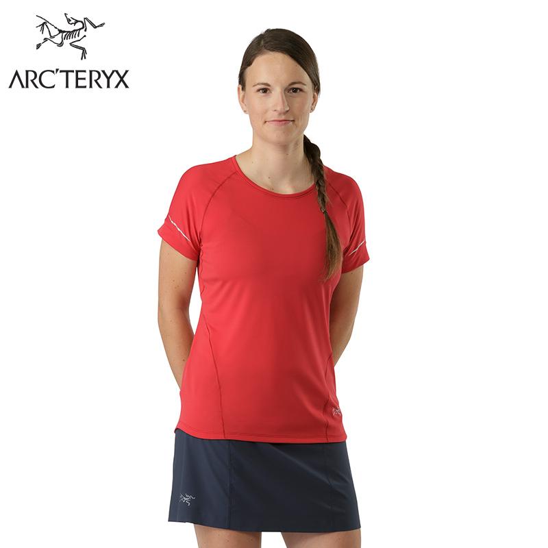 Arcteryx始祖鸟女款轻量高科技短袖T恤 Motus Crew