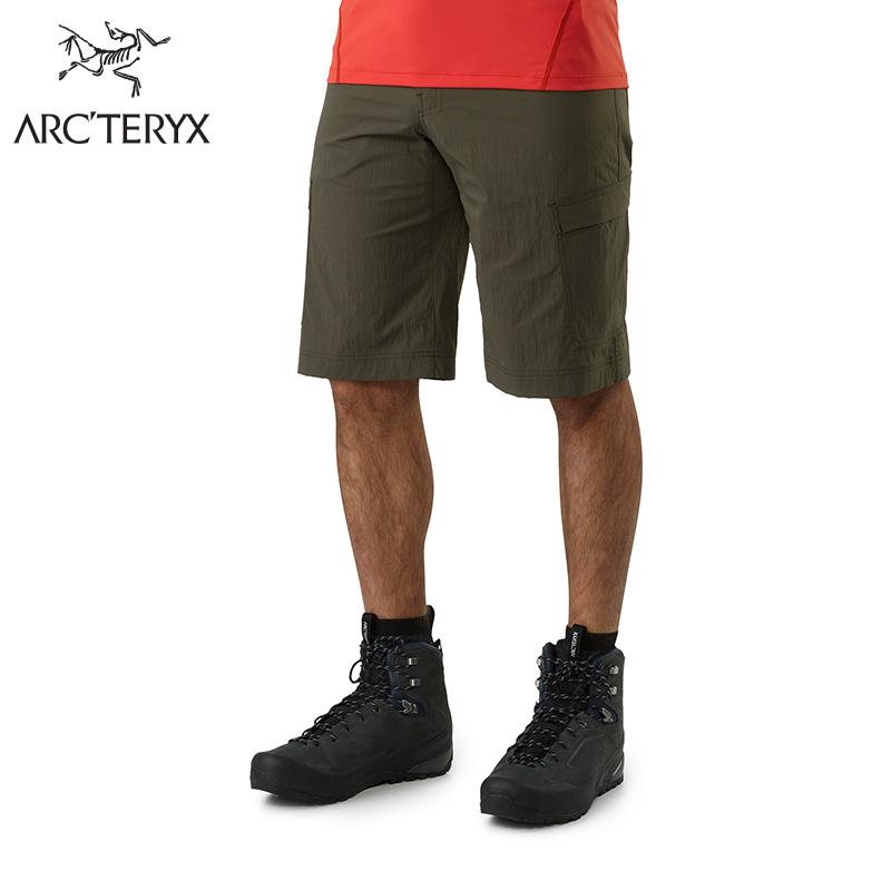 Arcteryx 始祖鸟男款轻量快干远足短裤 Rampart