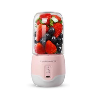 apollinaris电动便携榨汁机家用小型充电迷你学生榨汁杯炸果汁机
