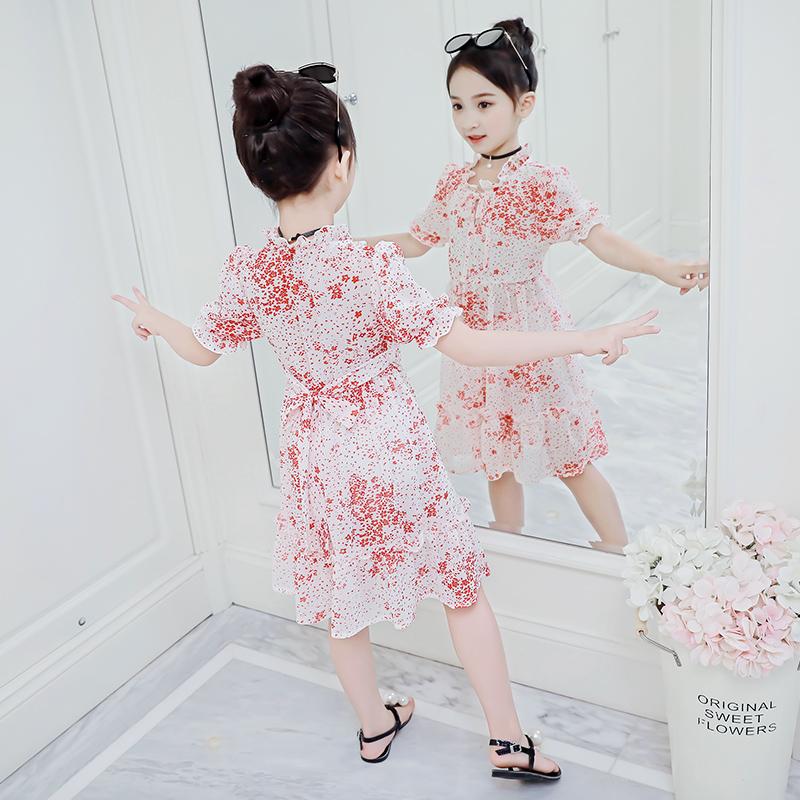 【清仓】女童夏装连衣裙2020新款儿童洋气时髦网红夏季公主裙子