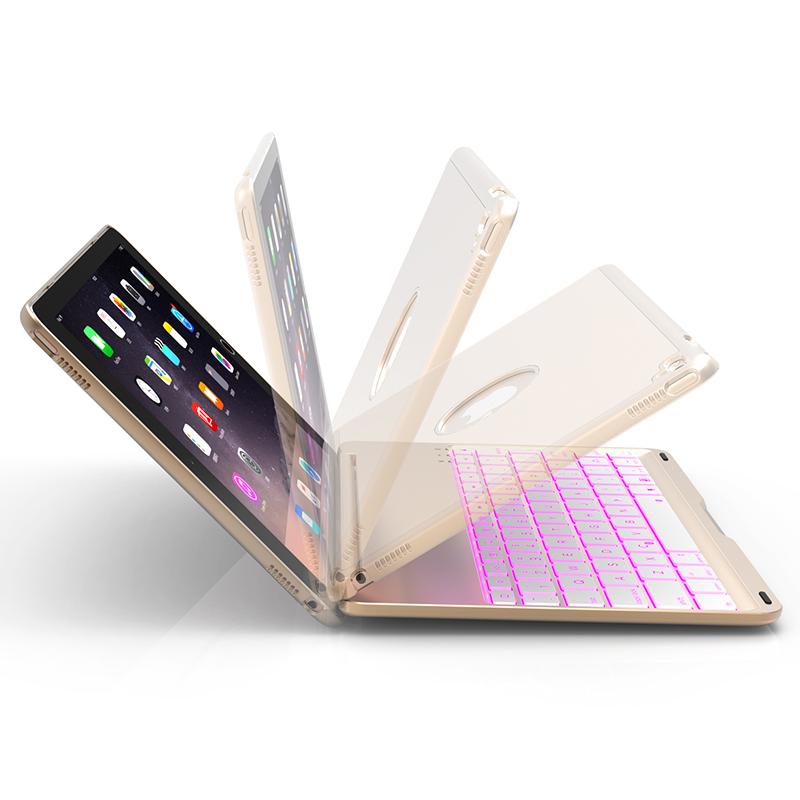 云派 2018新款ipad air2蓝牙键盘保护套苹果平板电脑pro9.7超薄壳2017