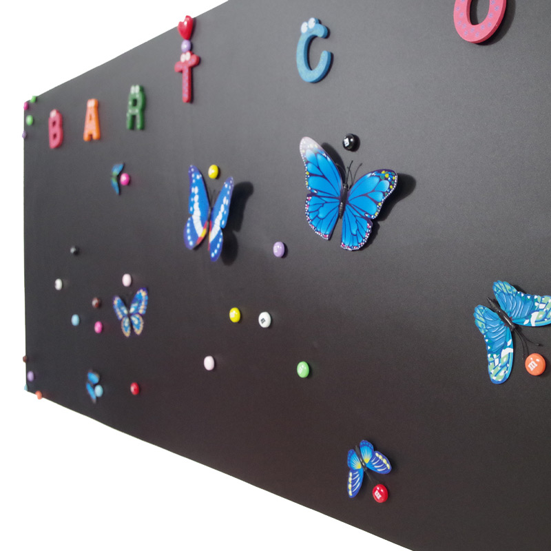 磁性黑板贴儿童涂鸦教学办公培训白板贴可移除擦写家用墙贴纸加厚