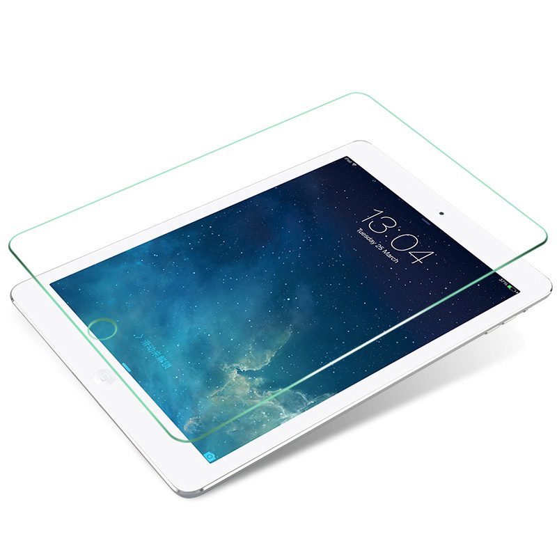 图拉斯新iPad款钢化膜9.7新款2017苹果Air2英寸a1893平板Pro10.5贴膜12.9磨砂mini3电脑4高清6全屏防指纹