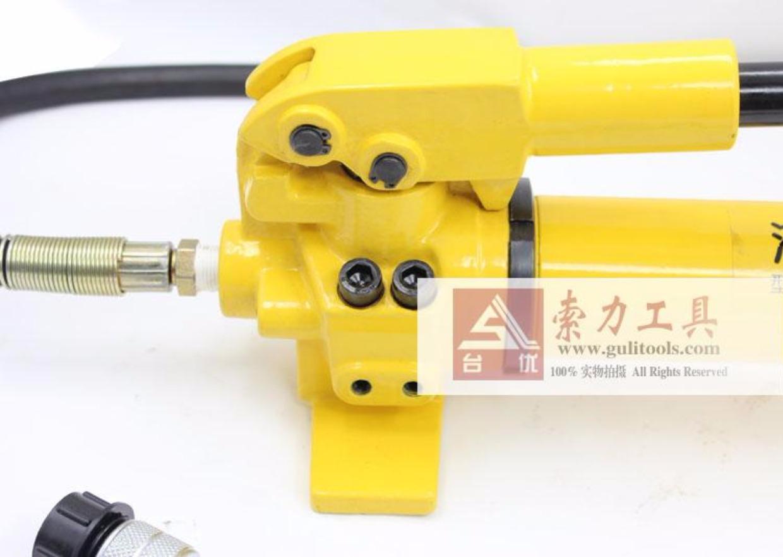 cp-700手动液压泵带表 手动泵浦大油量 油压泵 液压站图片