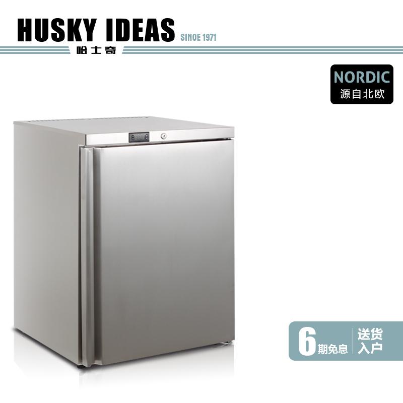哈士奇 HUS-B1B冰箱单门家用 商用小型冷冻整体厨房不锈钢嵌入式