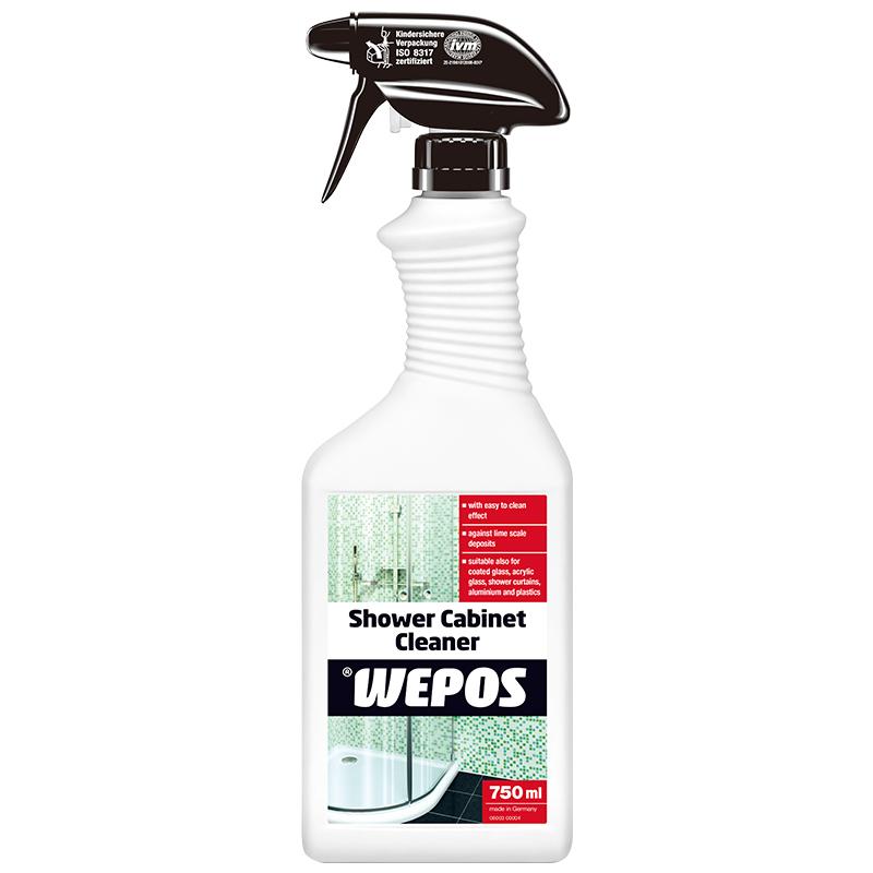 进口WEPOS淋浴房玻璃清洁剂 浴室浴缸瓷砖马桶除水垢水渍强力去污