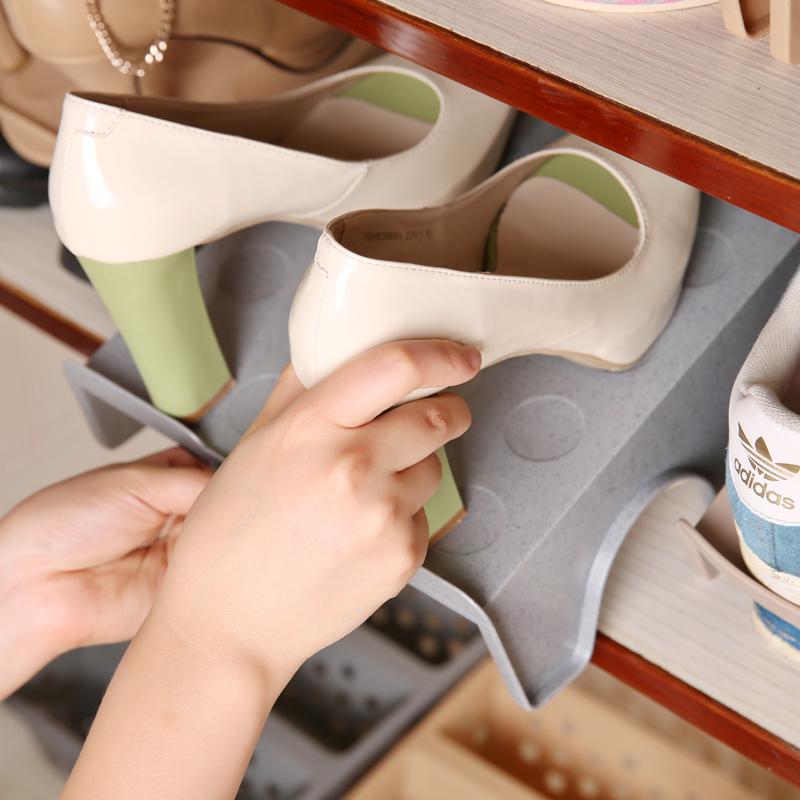 智慧夫人日式创意鞋子整理架