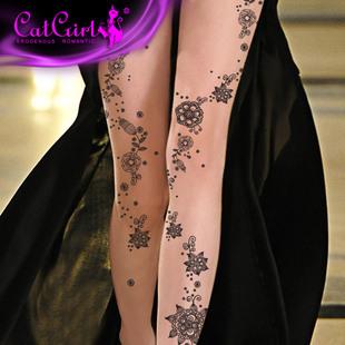 纹身手臂花纹图案女分享展示