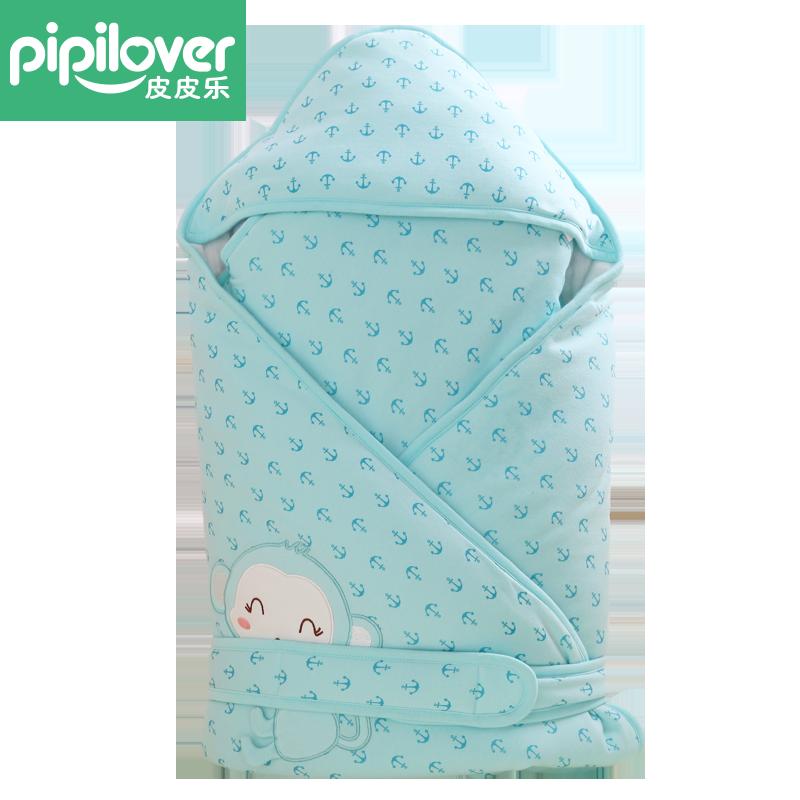 皮皮乐婴儿抱被新生儿春秋冬夹棉加厚外出包被子襁褓包巾宝宝用品产品展示图3