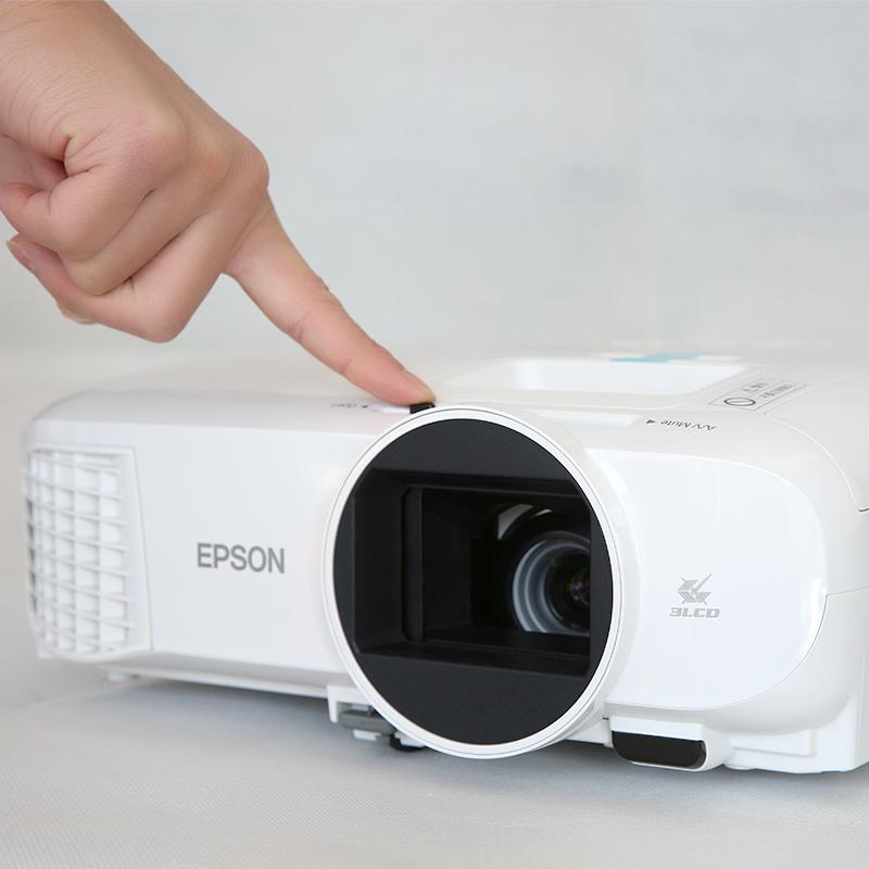 爱普生CH-TW5400投影仪高清家用3D影院1080P商务投影机5210升级版
