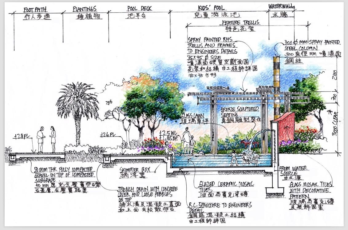 350套园林景观施工图cad施工图手绘图设计素材经典